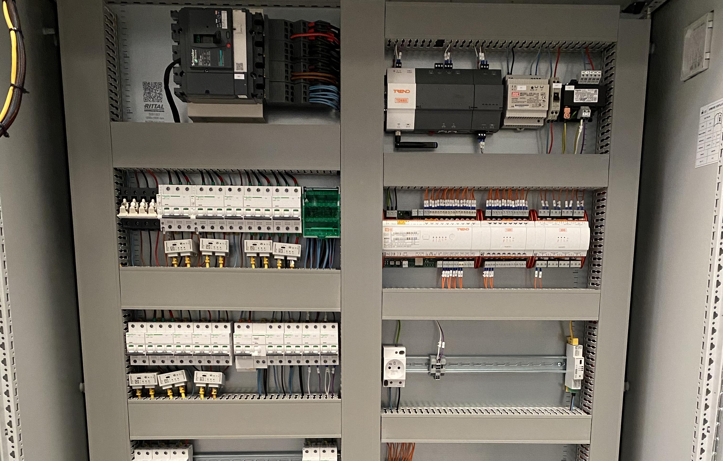 Conception d'armoires electriques